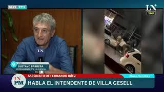 El intendente de Villa Gesell defendió la actuación de la policía en el caso de Fernando Báez Sosa
