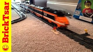 LEGO 10233 Horizon Express TGV Train With Power Functions - 2 sets running together
