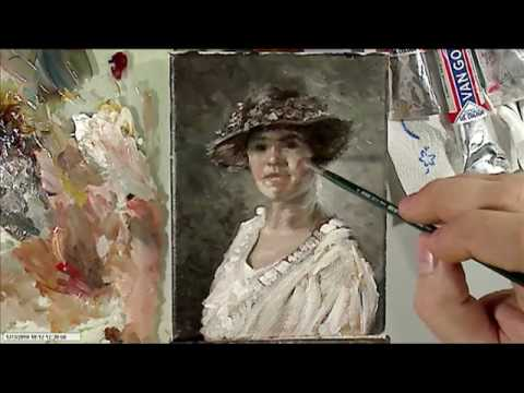 Portrait Oil Painting Demonstration Youtube