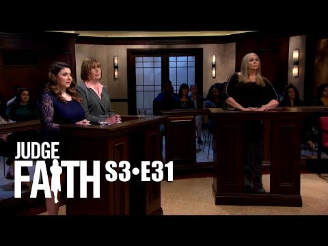 Judge Faith - Sample Dress Mess (Season 3: Full Episode #31)