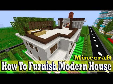 Minecraft How To Furnish Modern Turkish House