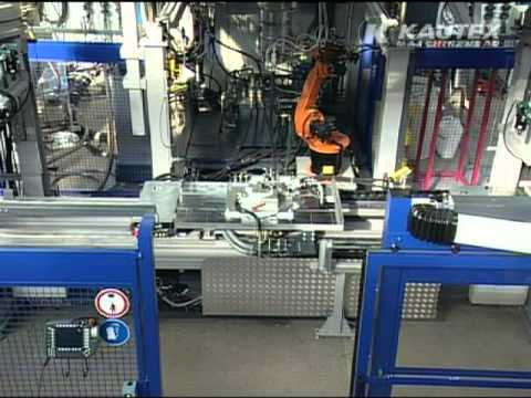 K3D HP HWH SeCo - Simultaneous production (Blow Molding Machine / Kautex Maschinenbau)
