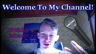 WELCOME TO MY BEATBOX CHANNEL! // Cirby Beatbox