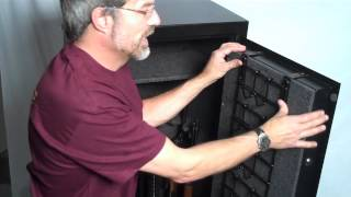 How To Install A Rack'em Gun Rack In Your Gun Safe