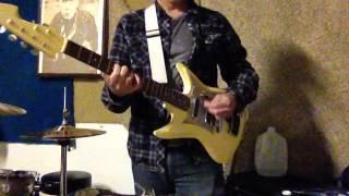 teisco et 312 k 3l sharkfin guitar jam