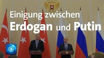 Nordsyrien: Türkei und Russland einigen sich auf gemeinsame Patrouillen und Feuerpause