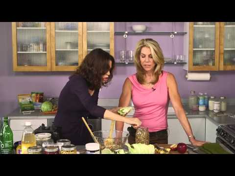 Quick and Easy Fermented Vegetables | In the Kitchen with JJ Virgin and Donna Gates - Body Ecology