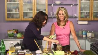 Quick and Easy Fermented Vegetables | In the Kitchen with JJ Virgin and Donna Gates(Buy Body Ecology Veggie Culture Starter: http://bodyecology.com/weight-loss-vegetable-culture-starter.html Donna Gates shows JJ Virgin how to make ..., 2014-03-12T20:41:14.000Z)