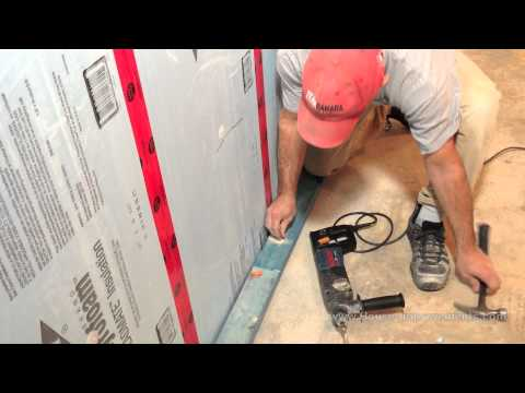 How To Fasten Wood To Concrete