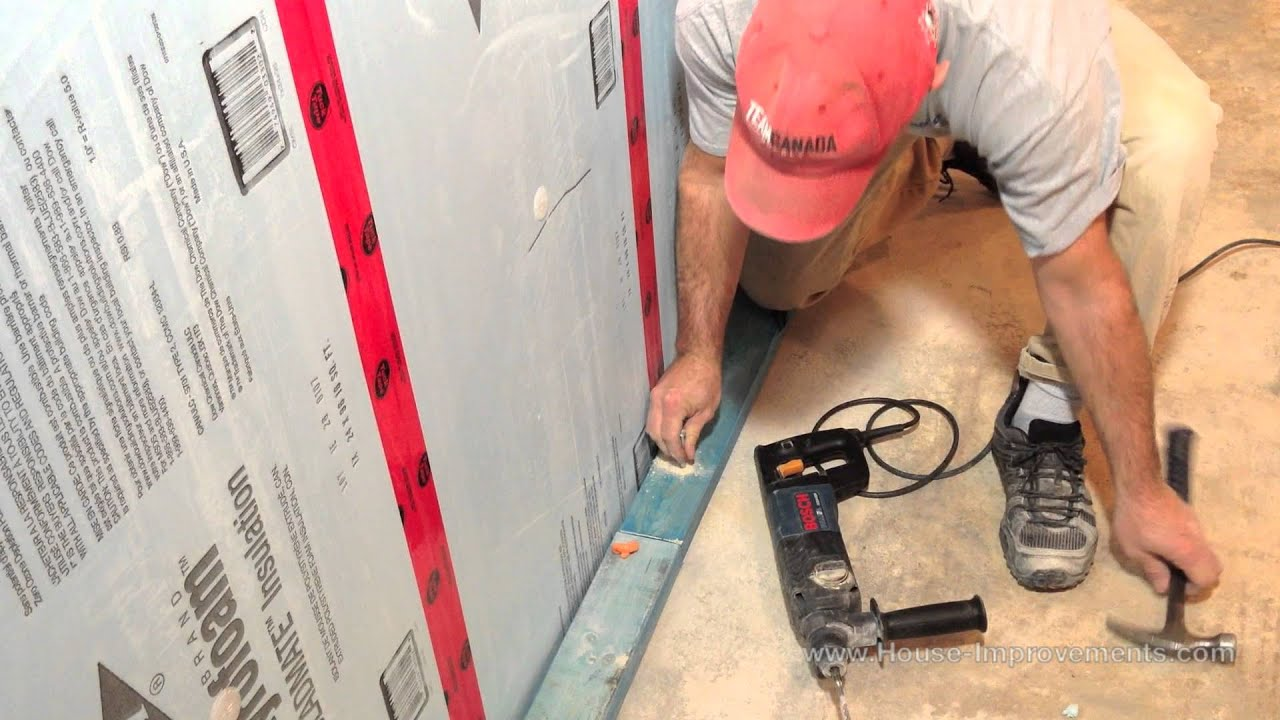 How To Attach Wall Frame Concrete Floor | TheFloors.Co