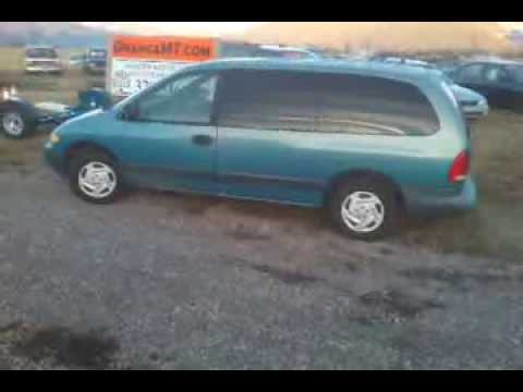 1996 Dodge Grand Caravan 293k Teal For Sale Youtube