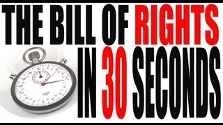 The Bill of Rights -- How to Remember the Amendments in 30 Seconds