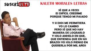 ELLA ES MI TODO - KALETH MORALES (LETRA)