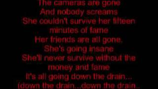Papa Roach - Hollywood Whore Lyrics