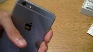 Apple iPhone 6s Plus Space Gray Unboxing