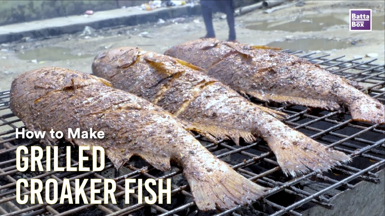 Download How to Make Grilled Croaker fish