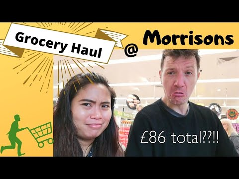 First Time Grocery At Morrisons UK Vlog 2019