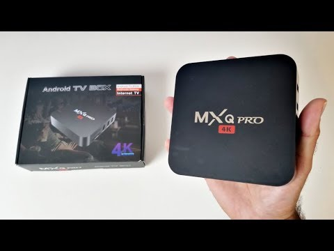 MXQ Pro 4K 2017 Internet TV Box Review - Android 7.1 Nougat