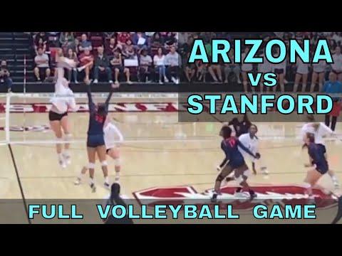 Stanford vs Arizona Women's Volleyball FULL GAME (9/29/17)
