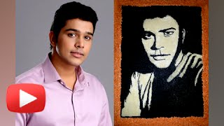 Download Hindi Video Songs - Suyash Tilak's Fan Makes His Rangoli | Watch Now | Ka Re Durava Zee Marathi Serial