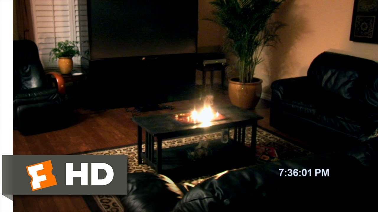 Paranormal Activity (1/9) Movie CLIP - Ouija Board on Fire (2007) HD