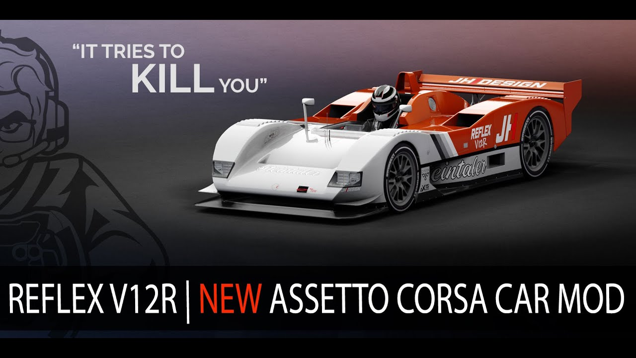Laurence Dusoswa: Free Assetto corsa car mod Reflex V12R