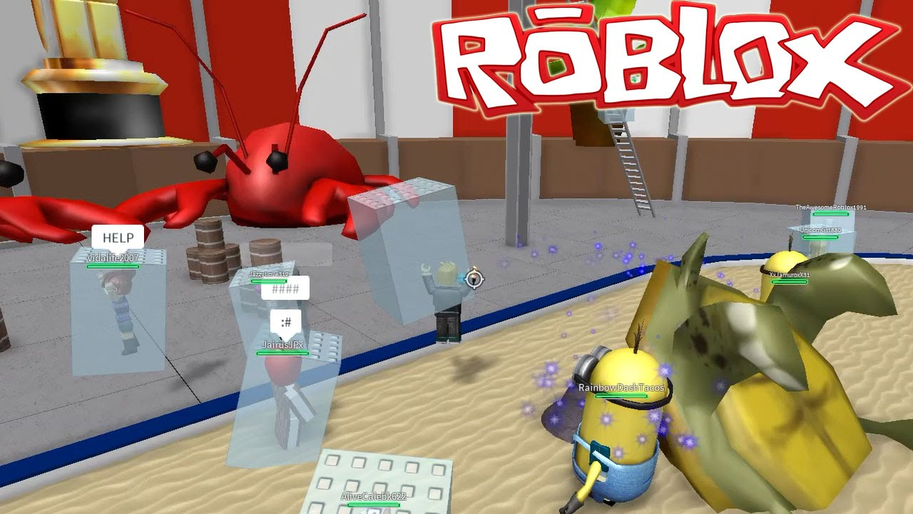 Roblox Freeze Tag Sparkly Zombie Minions Gamer Chad Plays