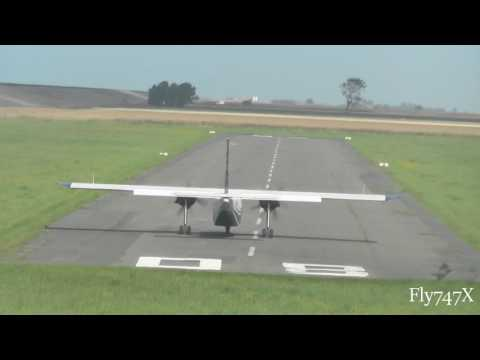 """Typ BN2 Britten Norman """"Islander"""" (D-IEST) Awesome Takeoff at Harle Airport"""
