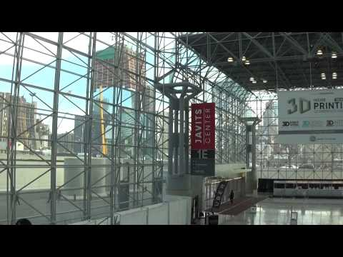 Jacob Javits Center in New York on April 16, 2015