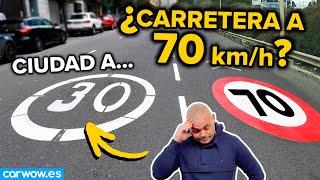 EL SINSENTIDO: CIUDAD A 30... ¿CARRETERA A 70 Km/h?