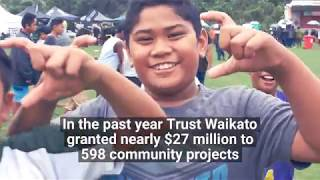 Trust Waikato - the year that's been 2017-2018