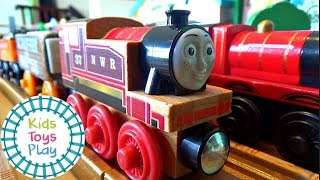 Thomas And Friends Season 21 | The Fastest Red Engine On Sodor | Wood 2018 Review | Wooden Railway