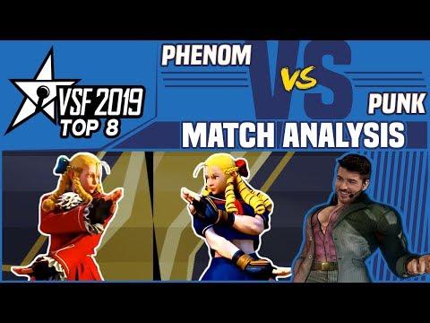SFV AE Match Analysis: VSFighting 2019 Top 8 - Phenom Vs. Punk