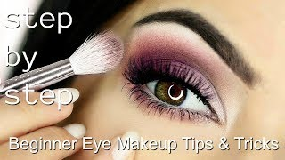 Beginner Eye Makeup Tips & Tricks | STEP BY STEP EYE MAKEUP ADDING COLOUR