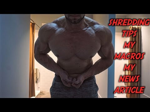 Does your life suck? Shredding Tips, My Macros, My News Article
