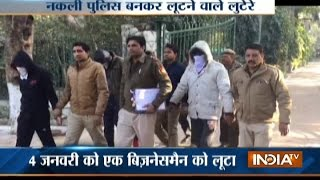 Fake Police Gang Busted in Delhi
