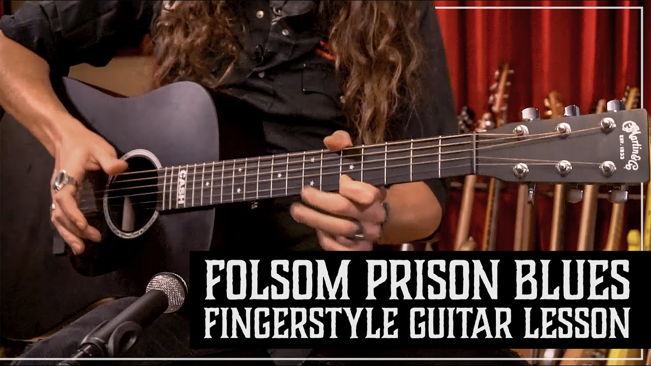 "THE ULTIMATE ""Folsom Prison Blues"" Fingerstyle Guitar Lesson with TABS! by Justin Johnson"