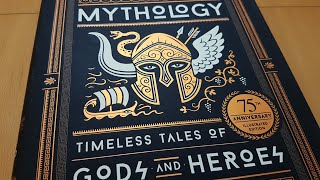 Mythology Timeless Tales by Edith Hamilton - Beautiful Book review