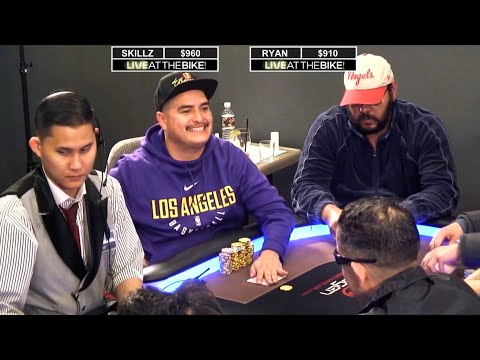 Doesn't Take Skillz To Play Pocket Kings ♠ Live at the Bike!