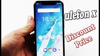 "Hands On Ulefone X 5.85"" HD+ Mobile Phone Android 8.1 Review Price"