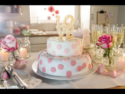 Rezept Hochzeitstorte Love Von Dr Oetker Youtube