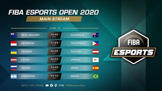 Game TV Schweiz - FIBA esports Open 2020 - Main Stream - Day 1 | 📅