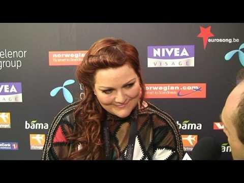 Interview Hera Björk (Iceland Eurovision 2010).mpg