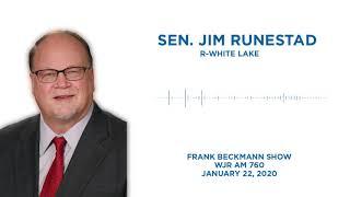 Sen. Runestad joins the Frank Beckmann Show to discuss regional transit