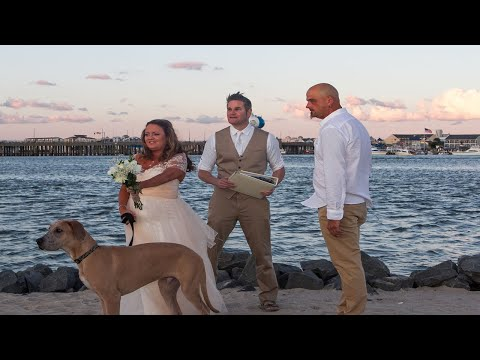 "West Ocean City ""Stinky Beach"" Wedding"