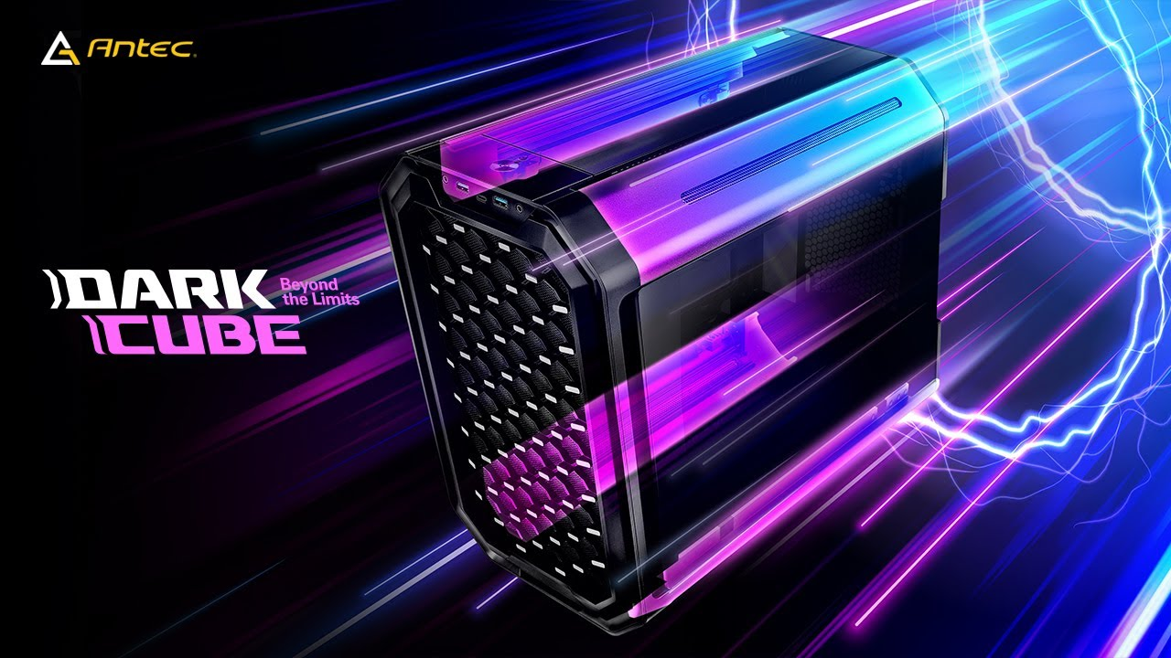 Download Antec Dark Cube ITX Case - Beyond The Limits