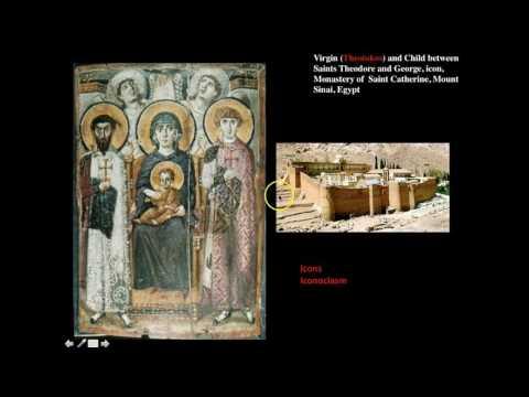 Virgin Theotokos and Child