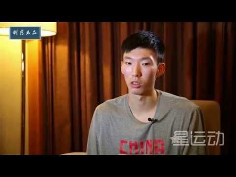 Chinese basketball rising star---Zhou qi(周琦)
