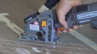 Tricks How to Replace Hardwood Floor Boards with Rockwell Versacut Mryoucandoityourself