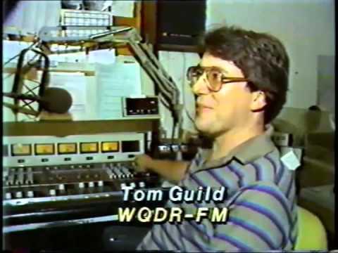 Tom Guild talks about WQDR format change, WTVD, 1984
